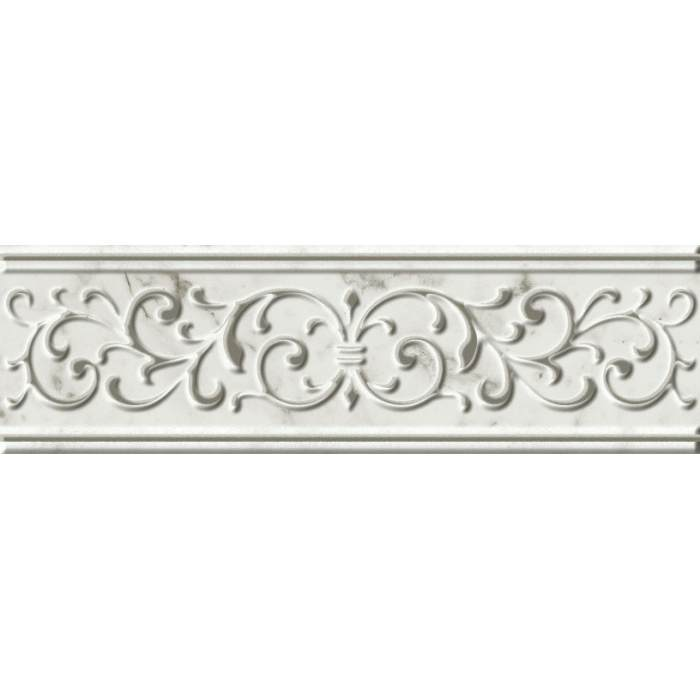 Charme Extra Wall Carrara Listello Empire 7,2*25