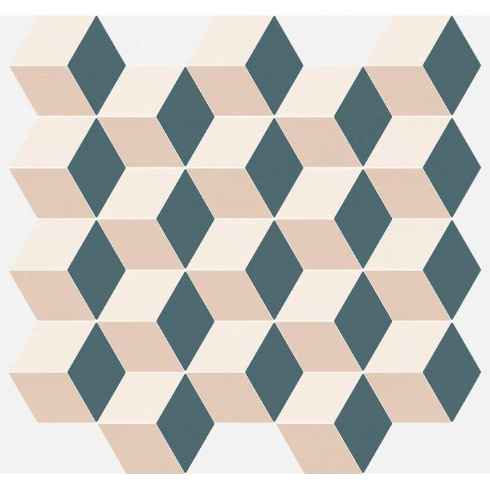 Element Silk Mosaico Cube Cold 30,5*33