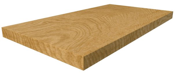 Essence Scalino Angolare Sinistro Oak 33*60