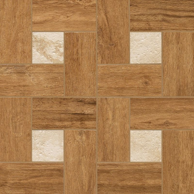 Nl-Wood Honey Inserto Glamour 45*45