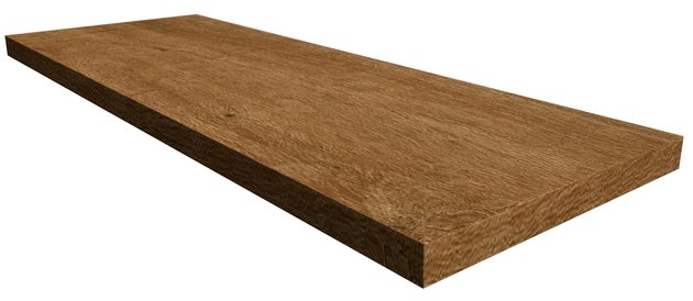 Nl-Wood Scalino Angolare Destro Honey 33*90