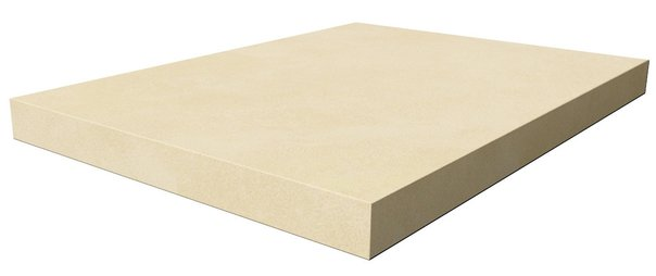 Space Scalino Angolare Sinistro Ivory 33*45