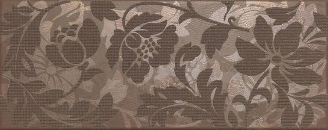 Touch Brown Inserto Flower 20*50