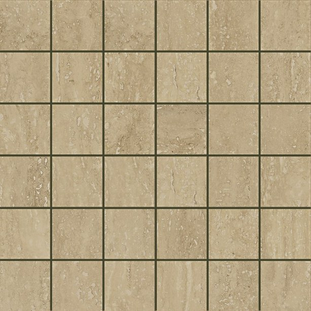 Travertino Floor Mosaico Noce 30*30
