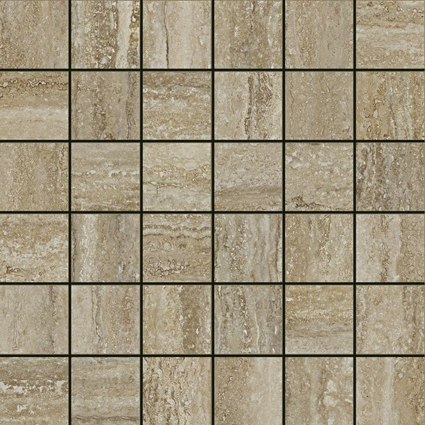 Travertino Floor Mosaico Silver 30*30