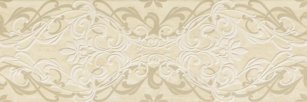 Travertino Wall Cosmopolitan Inserto Arabesque 25*75