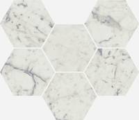 Charme Extra Carrara Mosaico Hexagon (Шарм Экстра Каррара Мозаика Гексагон)