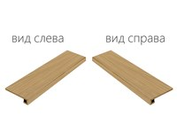 Element Wood Olmo Scalino Angolare Sinistro (Элемент Вуд Олмо Ступень Угловая Левая)
